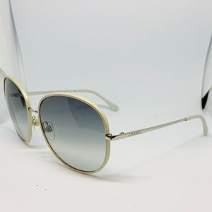 EUC CHANEL Gray & Silver Sunglasses - 4163-Q